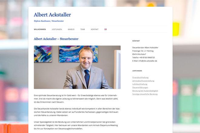 Albert Ackstaller