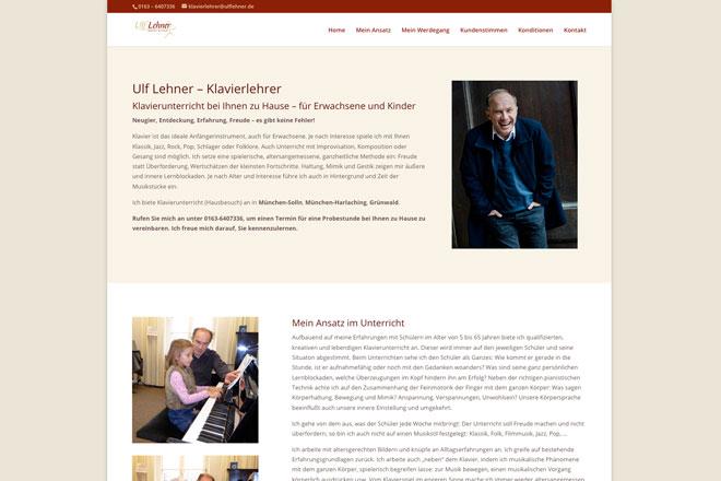 Ulf Lehner Klavierunterricht